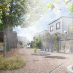 Skovlunde Bymidte: Byens grønne bånd